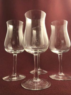 Kosta Boda - Bouquet - 4 st vinprovar glas Design Signe Persson Melin