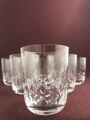 Kosta boda – Cecil 6 st Whiskey glas design Fritz Kallenberg