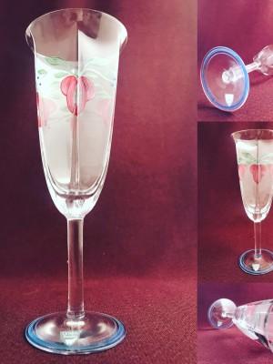 Orrefors - Maja Champagne glas Design Eva Englund