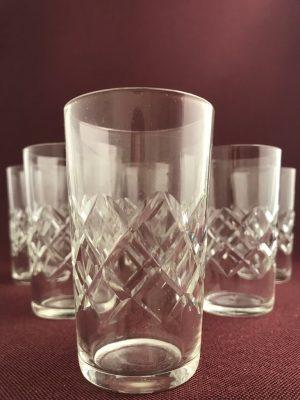 Kosta Boda - Bror- 6 st Selter / Whiskey glas Design Fritz Kallenberg