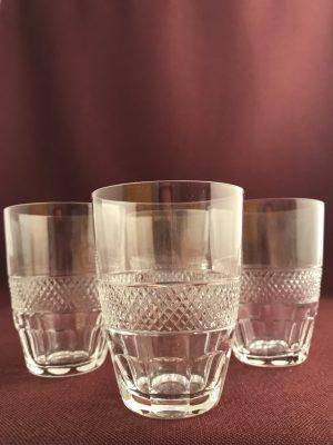 Orrefors - Rio - 4 st Selter glas Design Edvard Hald
