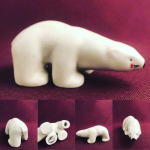Arabia-Figurin- Polarexpress design -Raili Eerola