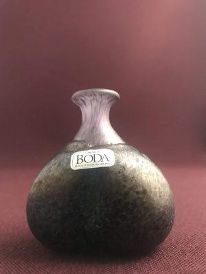 Kosta Boda - Signerad - Miniatyr - Flaska Design Bertil Vallien