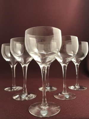 Orrefors - Illusion - 6 st Champagne Coupe glas Design Nils Landberg