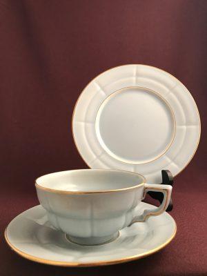 Uppsala Ekeby-Grand-Kaffekopp med fat &Assiette-Arthur Percy