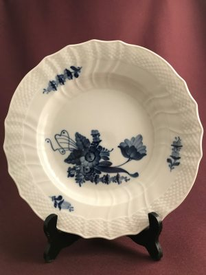 Royal copenhagen - Blå Blomst - Djup mattallrik 10/1621