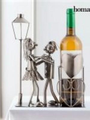Interiör - Vin hållare - alla hjärtans dag kärlekspar Nytt från glasprinsen