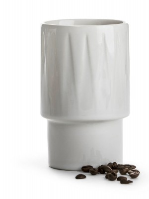 Coffee & More Lattemugg, vit