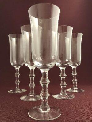 Orrefors - Salut - 5 st Champagneglas design Simon Gate