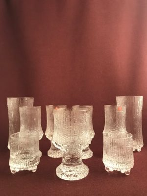 Iittala- Ultima Thule 9 st glas servis -Tapio Wirkkala