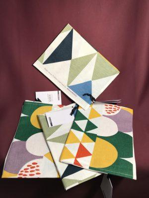 4 st Kökshanddukar Bows Spara 220 kr Design Josef Frank nytt från glasprinsen