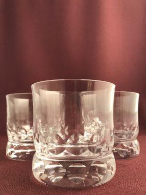 Kosta Boda - Prince - 3 st tumbler Små Whisky glas Design Göran Wärff