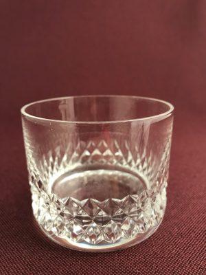 Orrefors - små Whiskeyglas- Gustav II Adolf - Design Nils Landberg