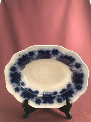 Gefle -Vinranka flytande blått- Arthur Percy djup stor Uppläggningsskål