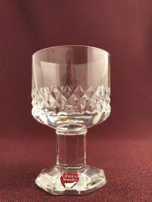 Orrefors - Starkvins glas- Gustav II Adolf - Design Nils Landberg