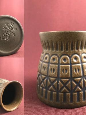 Uppsala Ekeby - Vas signerad 7002- keramik Design Mari Simulsson