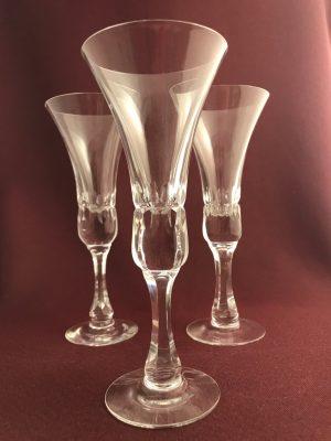 Kosta Boda - Prince - 3 st Champagne glas Design Göran Wärff