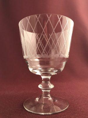 Kosta Boda - 3 st Sickan -vinglas design Vicke Lindstrand