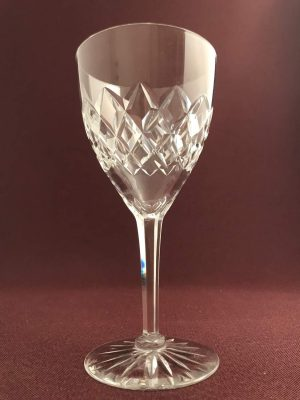 Orrefors - Bror -Hel kristall Rödvin glas design Fritz Kallenberg