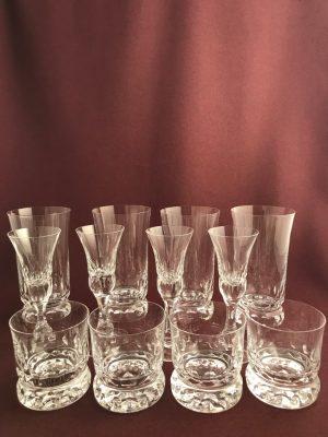 Kosta Boda - Prince - Servis 12 Cocktail snaps whiskey Design Göran Wärff