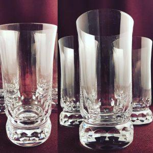 Kosta Boda - Prince - 3 st Cocktail / Öl glas Design Göran Wärff