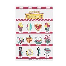 Kökshandduk Gratulation - Ny - Design Astrid Sampe