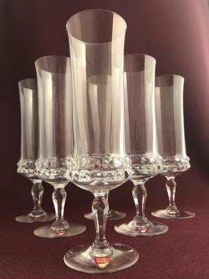 Orrefors - Silvia - 6 st Champagneglas - Ingeborg Lundin