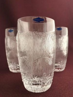 Arabia- Pioni 3 st Cocktail glas Design Oiva Toikka