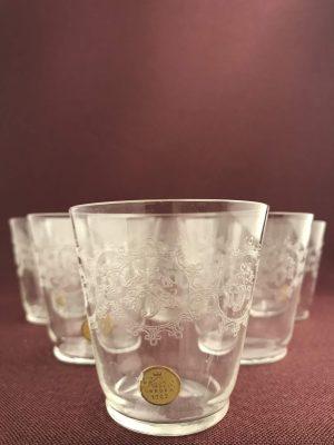 Kosta boda - Elon - 6 st Selter / Whiskey glas Design Edvin Ollers