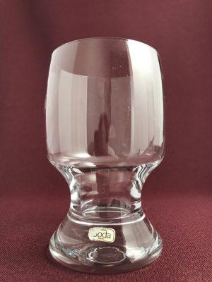 Kosta Boda-Porter - Röd Vin glas- design Signe Persson Melin