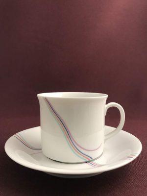 Rörstrand - Rainbow - Kaffe kopp & Fat - Design Bertil Vallien