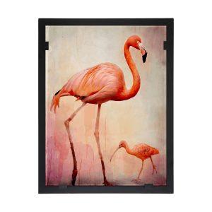 Glasvision - Tavla - Konstglas - – Flamingo Design Yvonne Heinonen
