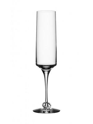 Orrefors - Amor Vincit Omnia - 2 st Champagne strut design Efva Attling
