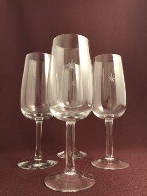 Kosta Boda - Bouquet - 4 st Champagneglas Design Signe Persson Melin