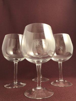 Kosta Boda - Bouquet - 4 st Rödvin glas - Design Signe Persson Melin