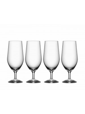 Orrefors - MORBERG COLLECTION - Öl glas 4 pack design Per Morberg