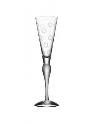 Orrefors - Clown 4 st Champagneglas 445 kr/st Anne Nilsson Nytt från glasprinsen