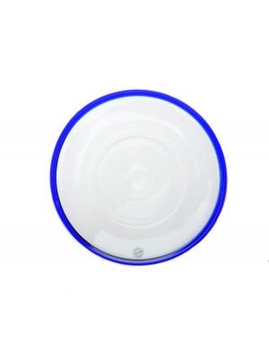 Bergdala Hyttan - Blå Kant - 6 st Assietter Design