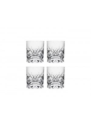 Orrefors - Sofiero - 4 st Whiskey glas Design Gunnar Cyren