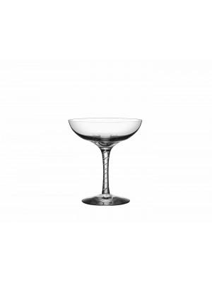 Kosta Boda - CRYSTAL MAGIC - 6 st Champagneglas / COUPE - Åsa Jungnelius