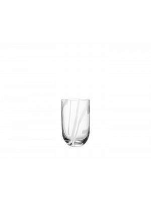 Kosta Boda CONTRAST -6 st Whiskey /Vatten glas Design Anna Ehrner