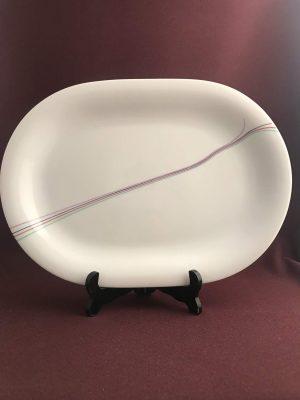 Rörstrand - Rainbow - Stort fat - Design Bertil Vallien