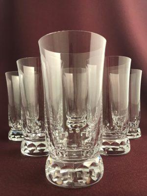 Kosta Boda - Prince - 6 st Cocktail / Öl glas Design Göran Wärff
