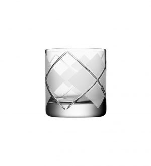 Orrefors - ARGYLE - DOUBLE OLD FASHIONED 40CL 2-PACK design Per Morberg