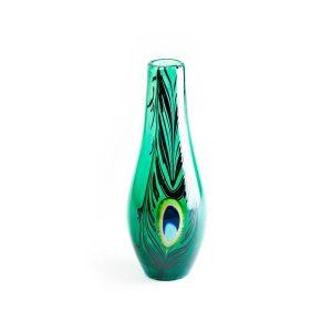 Målerås - Peacock Vas Ltd Ed - Grön design Ludvig Löfgren