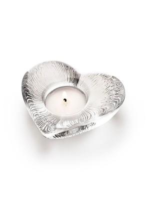 Målerås - Ljuslykta - Hjärta - vit design Ludvig Löfgren