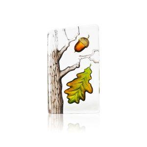 Målerås - Kristall Block - trädet ek ( Liten) . Design Robert Ljubez