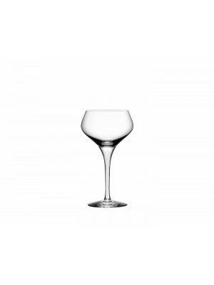 Orrefors - Intermezzo satin 6 st champagne Coupeglas Design Erika Lagerbielke