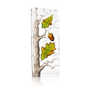 Målerås - Kristall Block - trädet ek. Design Robert Ljubez