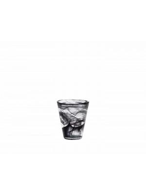 Kosta Boda - MINE Svart 6 st Tumbler / Whiskey glas Ulrica Hydman vallien